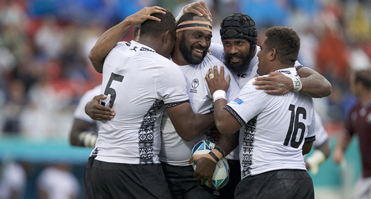 Rugby World Cup: Flying Fijians Click In The Rain