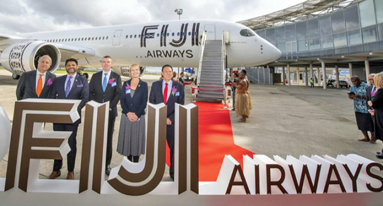 Fiji Airways Takes Delivery Of Stunning New Airbus A350