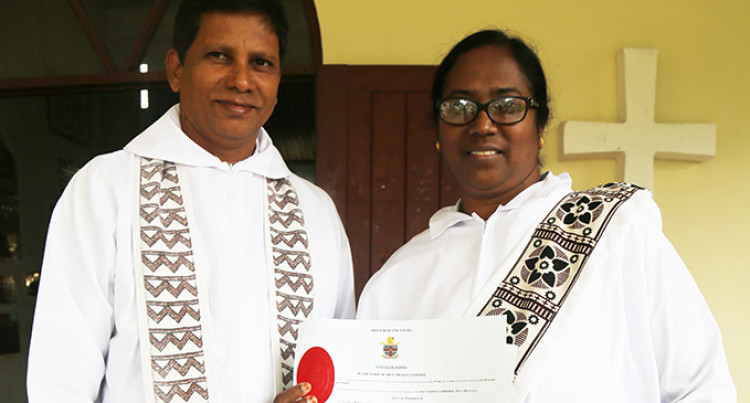 Reena Ready To Serve In New Role As Deacon