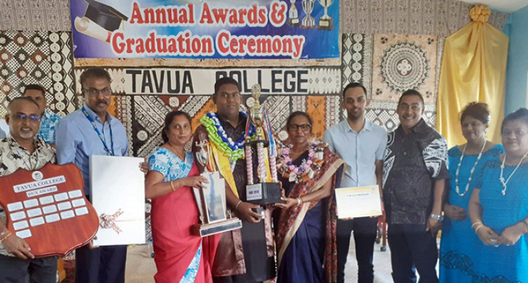 Tavua College Head Boy Attributes Success To Family, Teachers