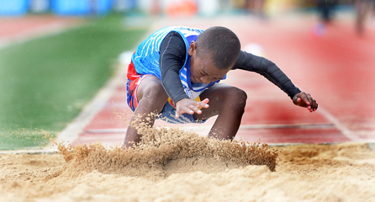 FMF Chow Games: Ragata Tops In Long Jump