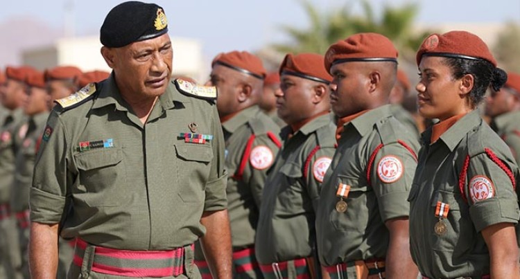 UNAMI Senior Leadership Wants Fijian Soldiers