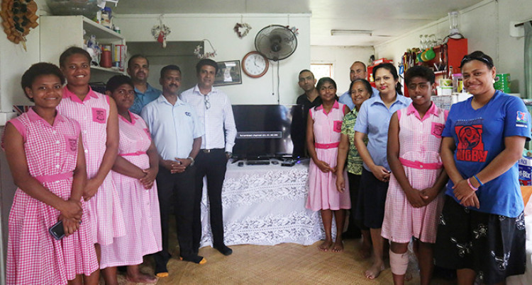 New TV, DVD Player Brightens Harland Hostel