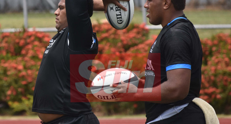 Flying Fijians Versus The RFMF Team At Churchill Park, Lautoka