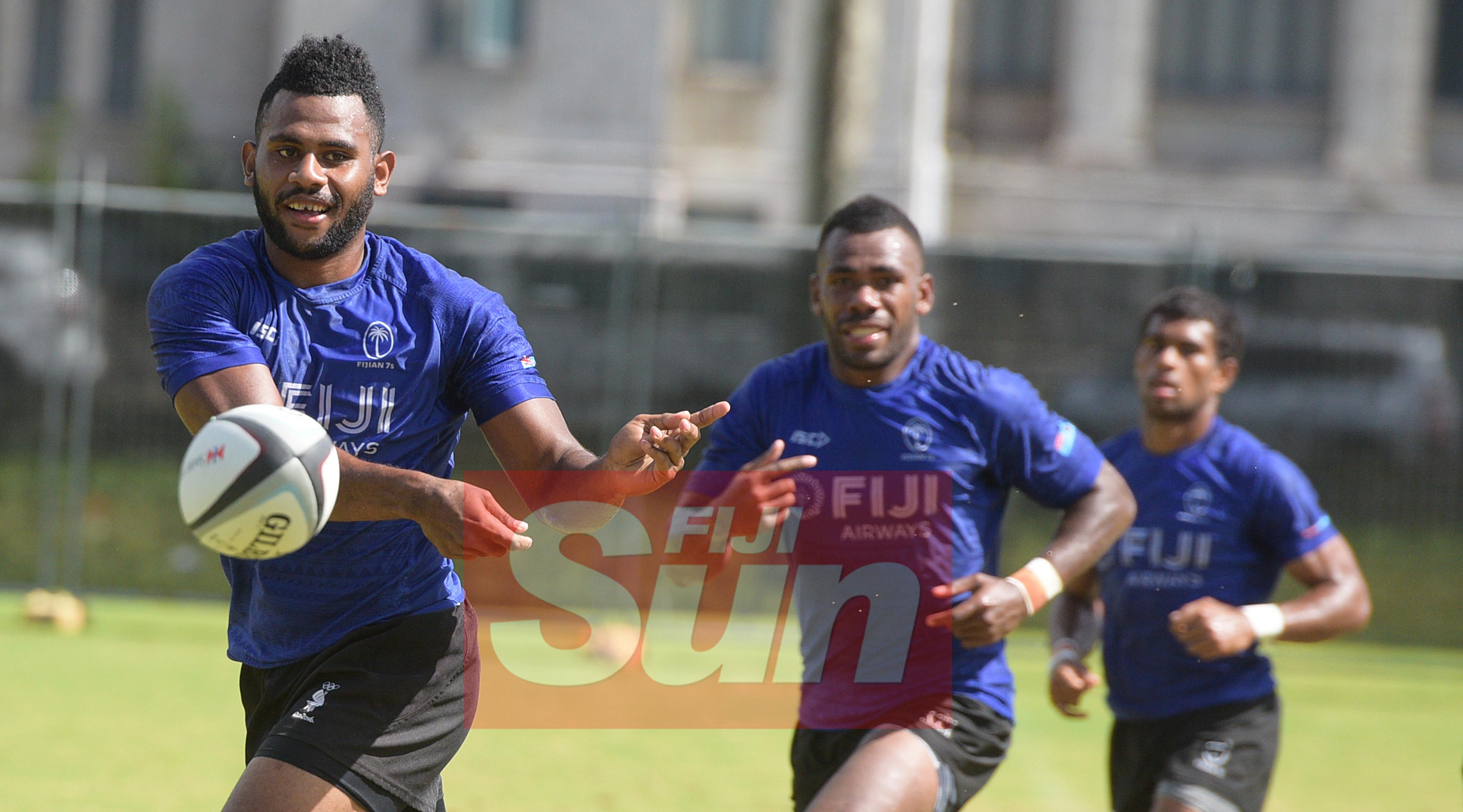 Vilimoni Botitu during Fiji Sevens Captain's run for Oceania Sevens Championship at Albert Park on November 11, 2019. Photo: Ronald Kumar.
