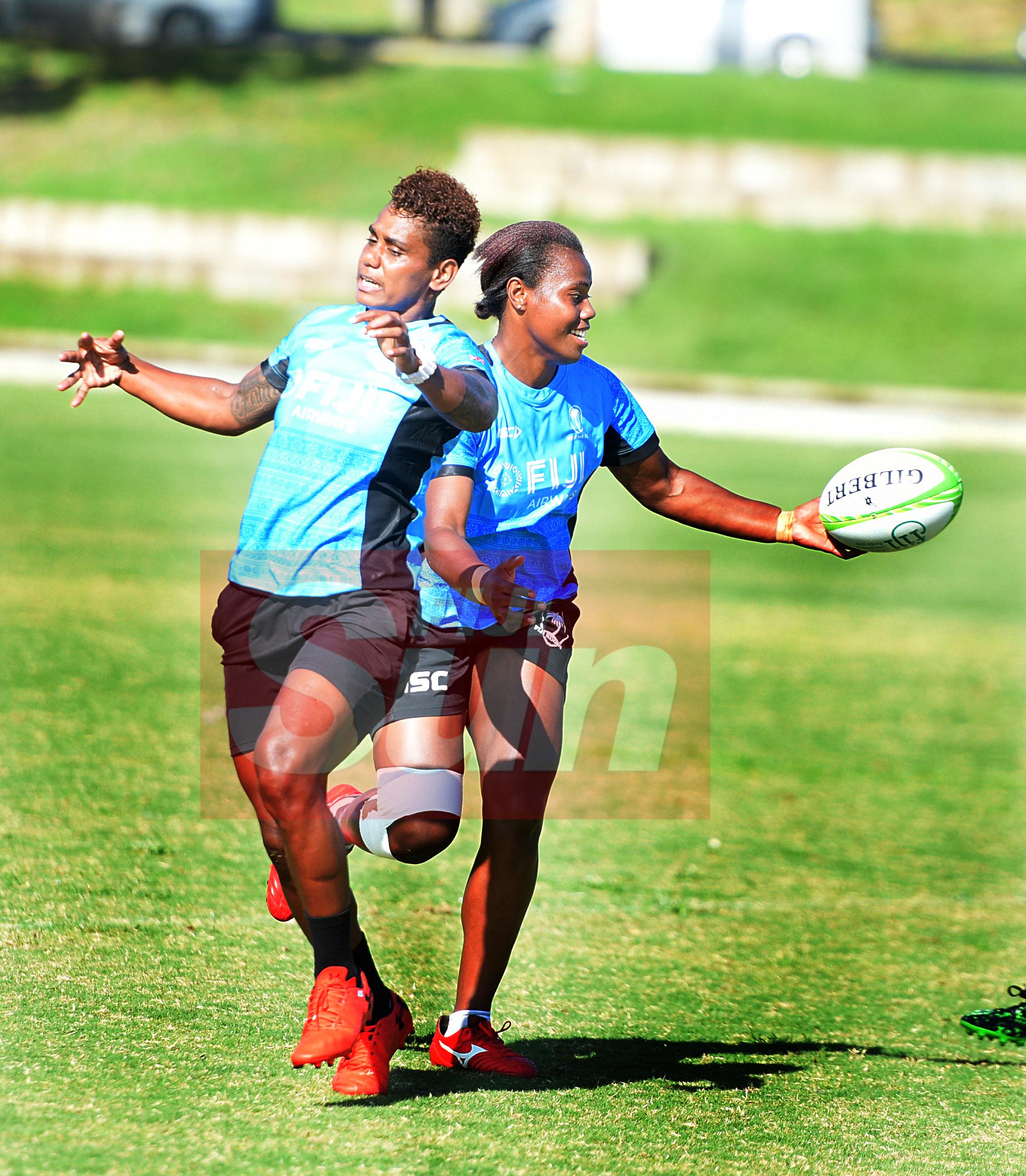 Fiji Womens sevens side during training at Albert Park for Oceania Sevens Championship on November 5, 2019. Photo: Ronald Kumar.