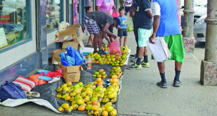 Suva City Council Clamps Down On Hawkers Selling On Capital City's Footpaths
