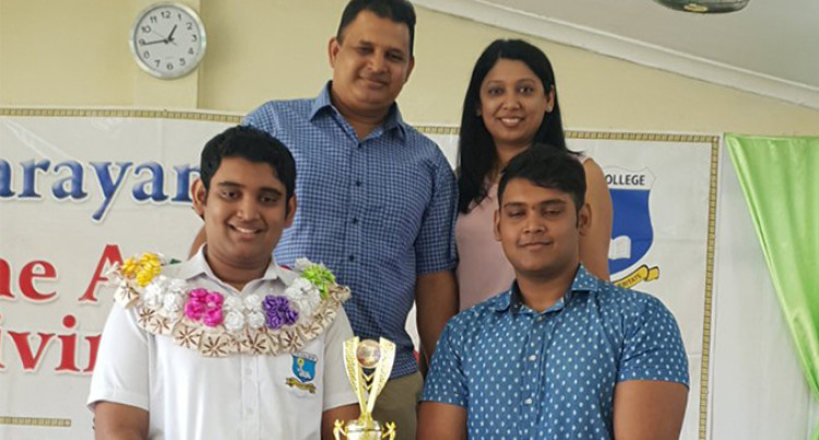 Shivek Accomplishes Mission To Be Jai Narayan College Dux