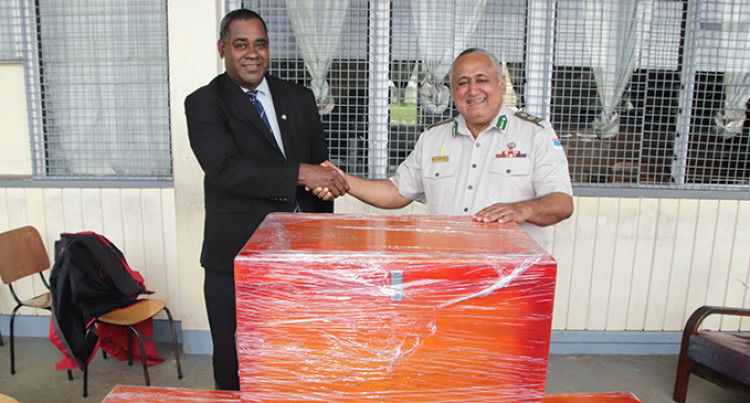 50 Wooden Chests Completed By Naboro Inmates In 72 Hours For RKS Boarders: Commander Kean