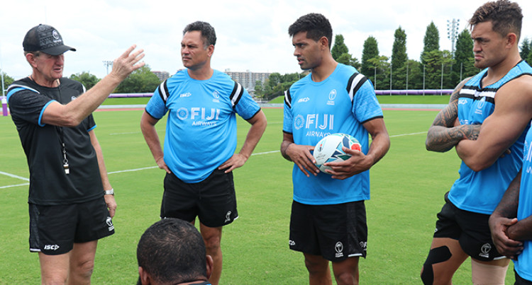 Flying Fijians Coaches Tabai Matson And Neil Barnes To Assist Chiefs Head Coach Warren Gatland