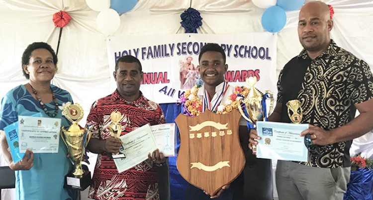 Raturaga Awarded Dux At Holy Family Secondary School