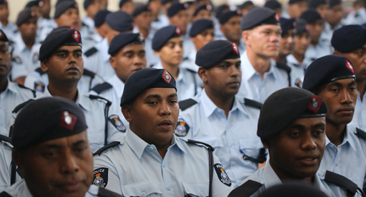 245 Special Police Constables Commenced Basic Recruits Training