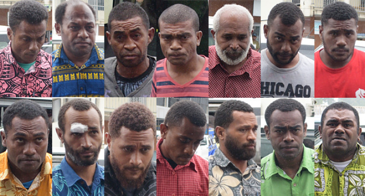 No Bail For14 Men Linked To Alleged Assault On Levuka Police