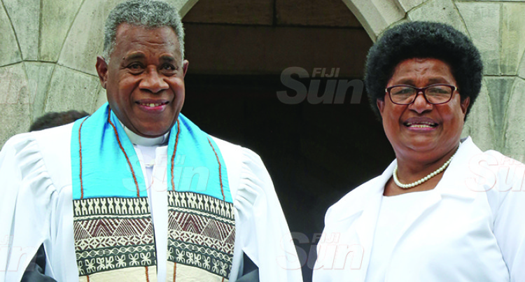 Reverend Naivalu Inducted As Deputy General Secretary
