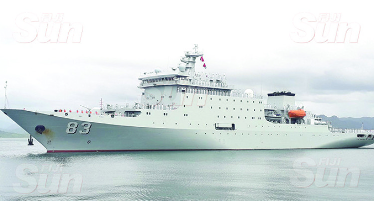 Chinese Naval Ship Crew To Train With RFMF Navy