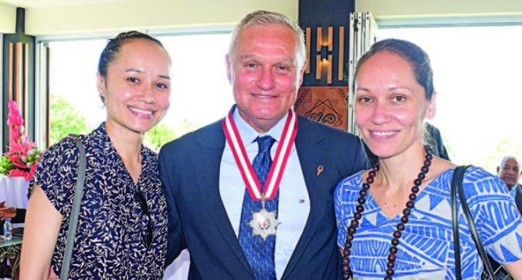 28 Receive Order Of Fiji 2018 Medals