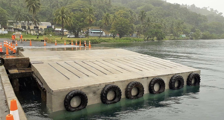 Savusavu Roro Ramp Ready For Operation