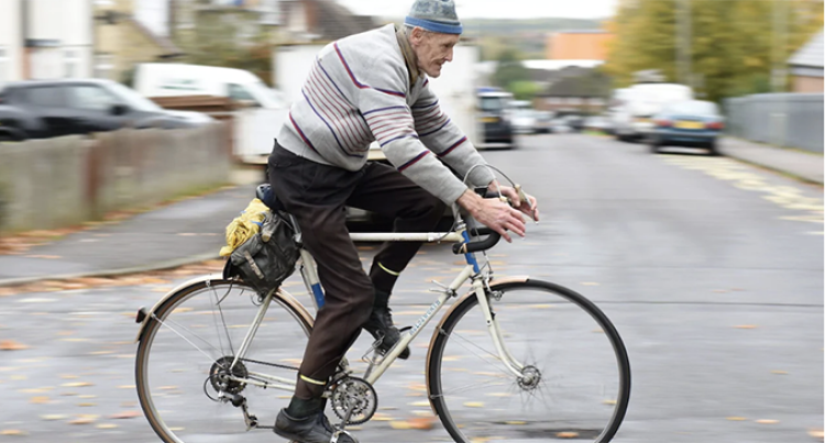 82-Year-Old Man Becomes First Person In UK To Cycle One Million Miles