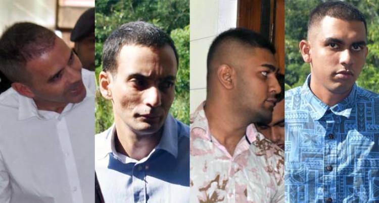 4 Men On Drug Charges Front High Court Judge