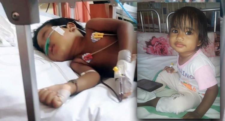 Samaira Ali, Aged 1, Battles Cancer