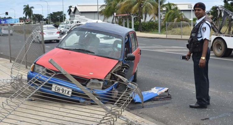Nadi Couple Survive Crash As Their Vehicle Was Dragged Under Truck For 400 Meters