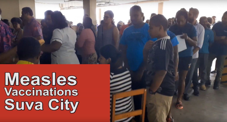Measles Vaccinations In Suva City