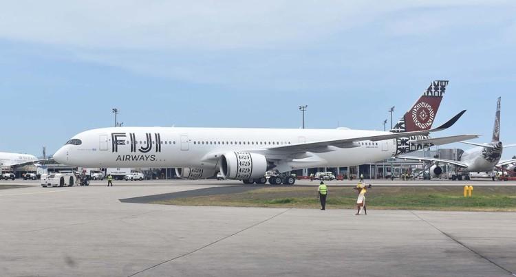 Fiji Airways A350-900 XWB, Island Of Viti Levu