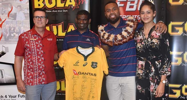 Australian Wallabies Vice Captain, Samu Kerevi,  Wants To Be A Flying Fijian