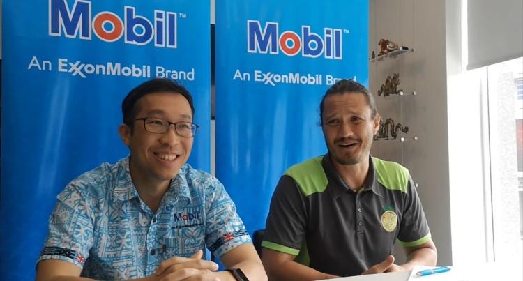 Mobil Oil (Fiji) Press Conference