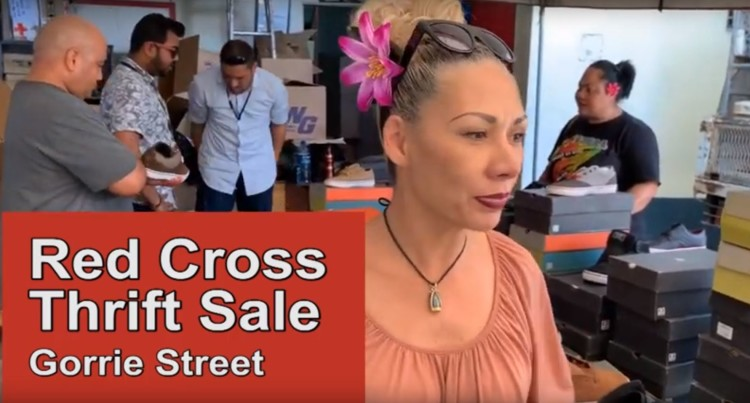 Fiji Red Cross Thrift Sale