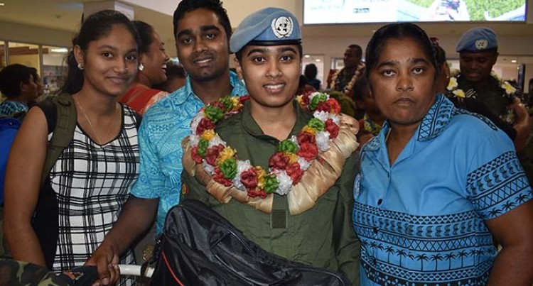98 Republic of Fiji Military Forces Personnel Return After A Year Serving In Iraq