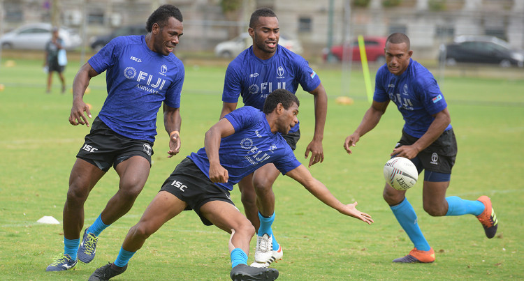 Fiji Sevens training: 1 November, 2019
