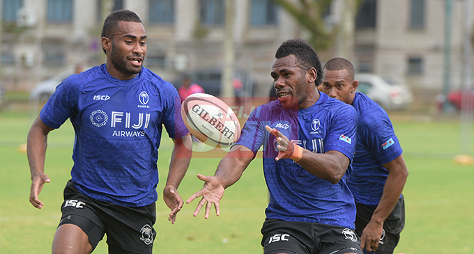Fiji 7's extended squad member Kaveni Tabu during team training at Albert Park on November 1, 2019. Photo: Ronald Kumar.