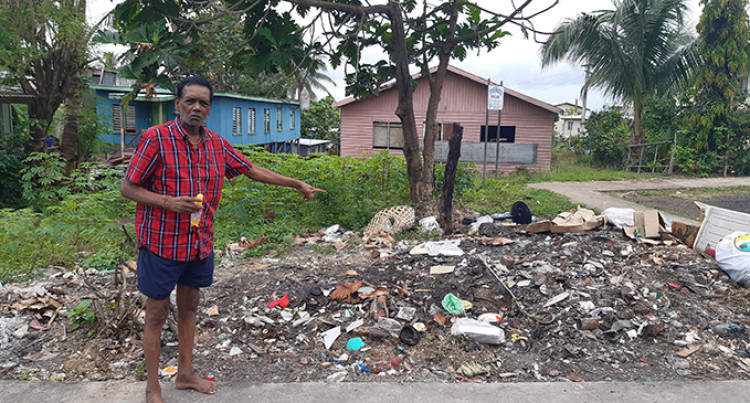 Burnt Rubbish Irks Jittu Estate Resident