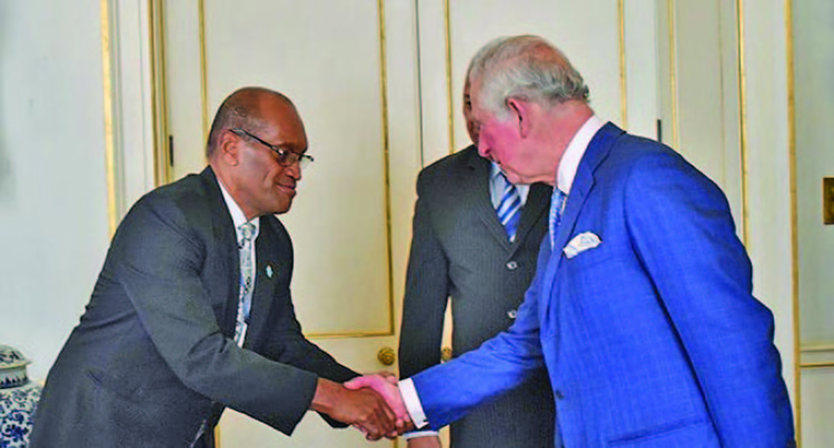 Prince Charles Congratulates Prime Minister Voreqe Bainimarama On Climate Change Advocacy