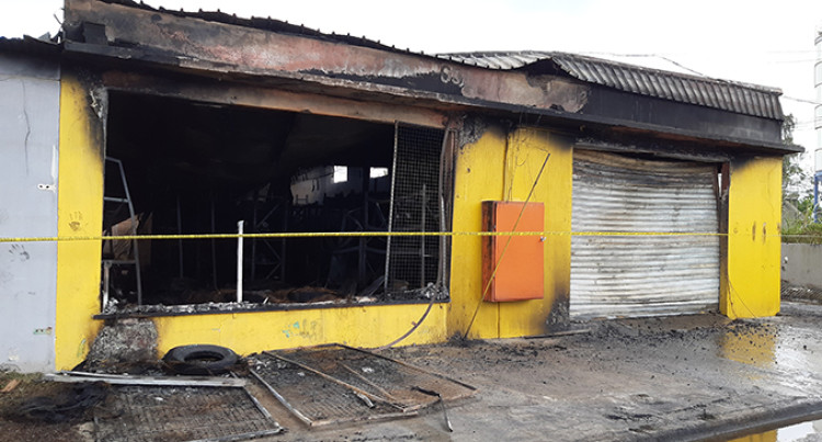 Early Morning Fire Destroys Automotive Spare Parts Shop In Nausori