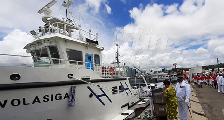 RFNS Volasiga Latest Addition To Naval Fleet