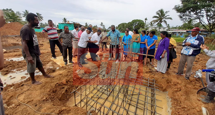 Work On $2.3M School Block Begins