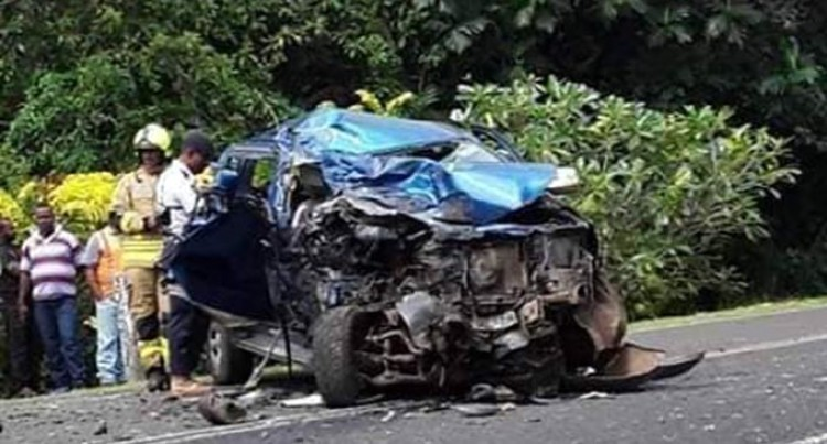 Fatal head-on collision Leaves One Woman Dead, 3 Others In Critical Condition In Taveuni
