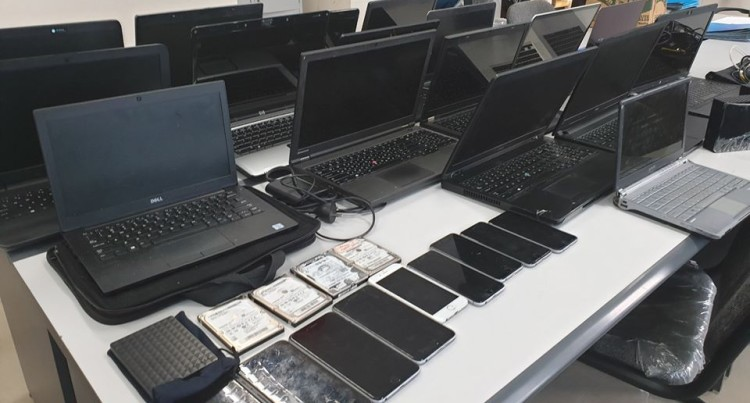Laptops, Mobile Phones And Electronic Gadgets Seized In Nasinu Police Raids