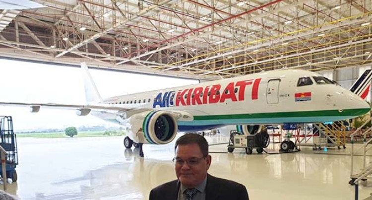 Air Kiribati's New Embraer On the Way