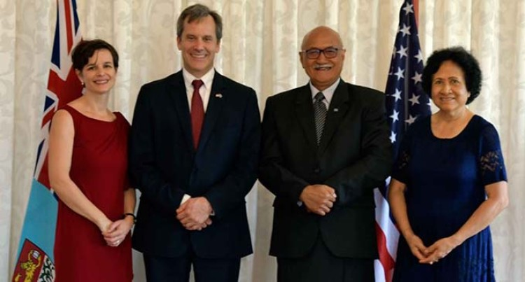New US Ambassador To Fiji, Cella Presents His Credentials