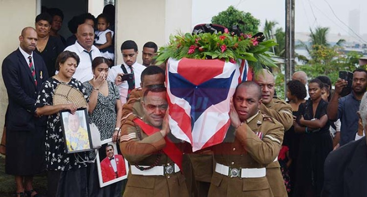 Fijian British Army Soldier Laid To Rest