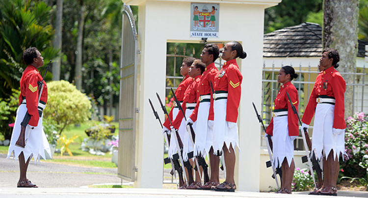 Military Women Take Charge At State House Gates