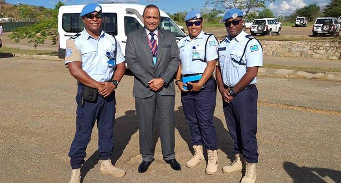 Commissioner Qiliho visit overseas mission.