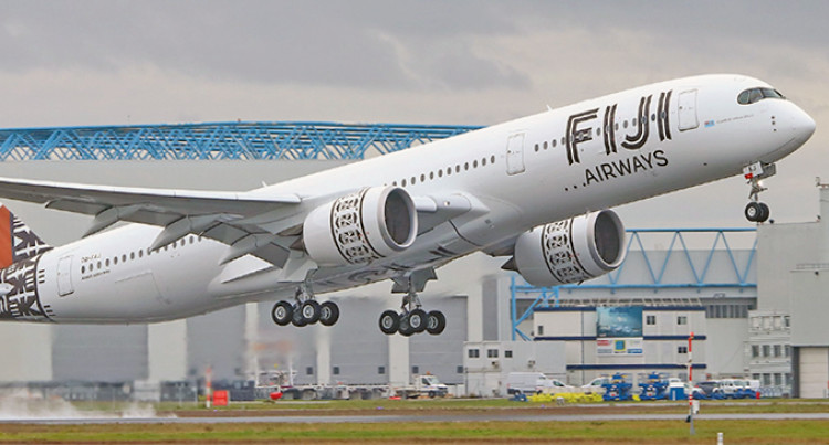 Fiji Airways Second A350 'Island Of Vanua Levu' Arrives Home Today