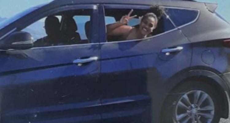 Missing Vehicle: Hyundai Santa Fe, JK 765