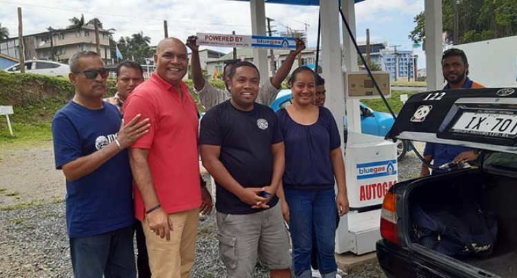 New LPG Service Station And Car Wash Opens, Only One In Suva's CBD