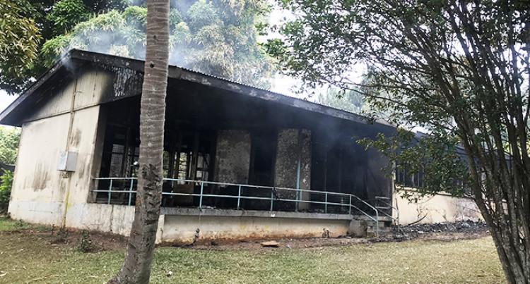 CAAF Fire Disrupts Funeral Plans