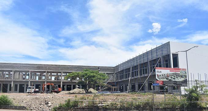 Construction of the new Lautoka Hub near completion. Photo: Salote Qalubau